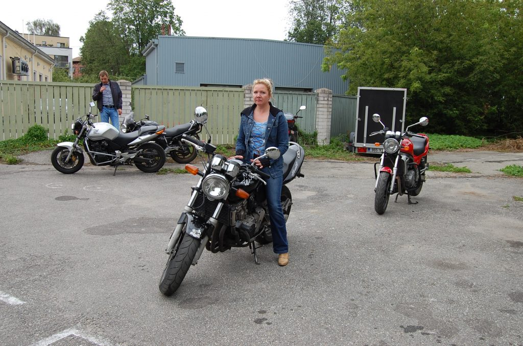 Õppesõit-mootorrattal